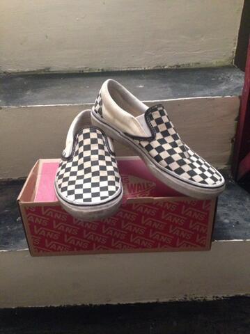 Vans CheckerBoard Good Condition