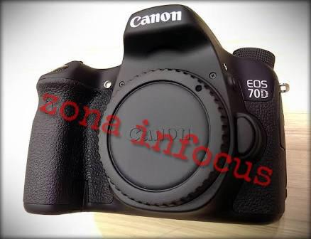 kamera canon eos 70D wifi body only