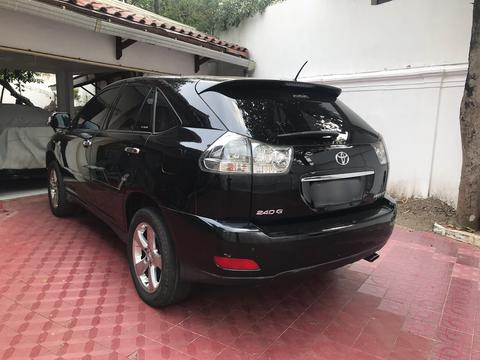 Toyota Harrier 2.4 G AT 2007 Hitam Lprem heater seat power back door