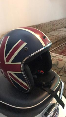 jual helm vespa second rasa baru