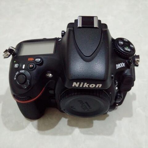 [CAKIM] WTS Nikon D800E body only mulus