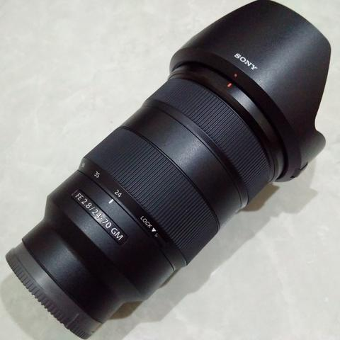 [CAKIM] WTS lensa Sony FE 24-70mm F2.8 GM like new garansi maret 2019
