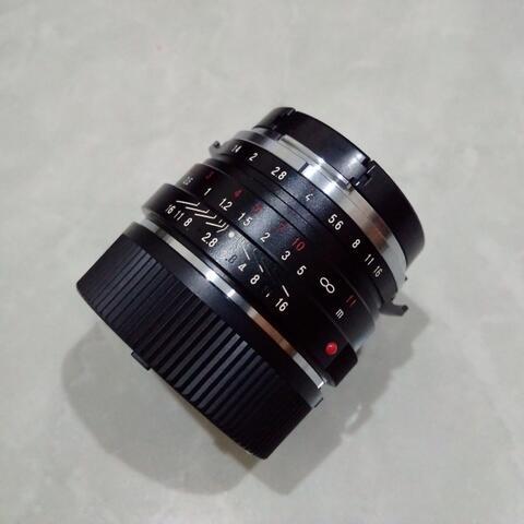 [CAKIM] WTS lensa Voigtlander 40mm F1.4 Nokton Classic for Leica M mulus