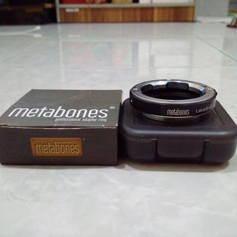 [CAKIM] WTS Adapter Metabones Leica M lens to Sony E mount like new