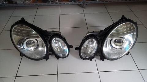 Headlamp Mercy W211 Facelift Original Mulus