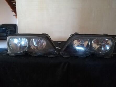 Headlamp BMW E46 Facelift mulus banget
