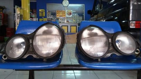Headlamp Mercy W210 New Eyes original mulus banget