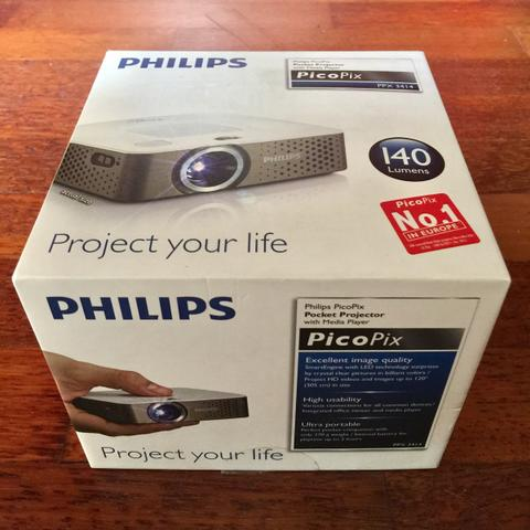 Proyektor Mini Philips PicoPix PPX 3414 Mini Projector