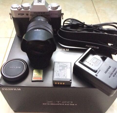 Fujifilm XT-20 XC 16-50mm