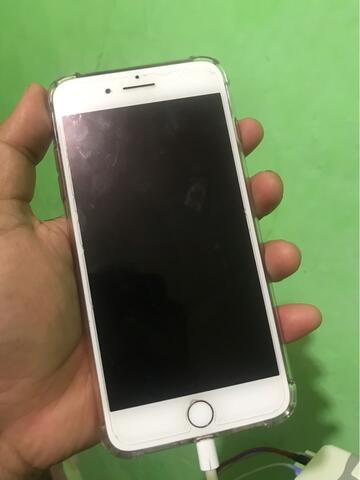 iphone apple 7 plus red 256 fullset bukan batangan atau android