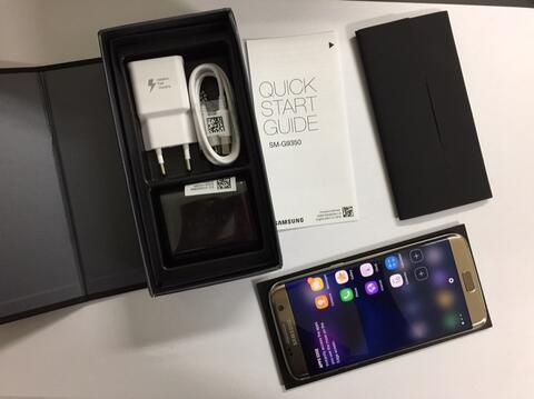 [BONDZE] Samsung Galaxy S7 Edge Gold Duos / dualsim [Cod Bandung]