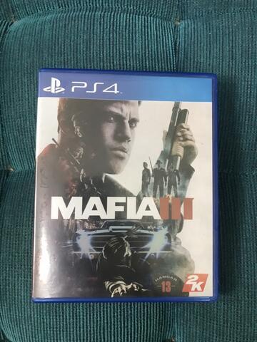 bd blueray disc mafia 3 ps4
