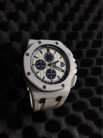 Second Audemars Piguet Novelty Ceramic White JF Highest Clone not rolex hublot omega