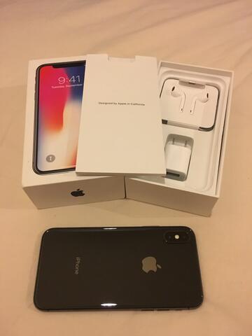 iPhone X Space Gray 64gb COD Surabaya/Malang