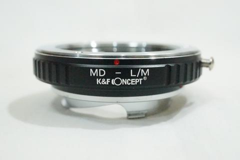 K&F Lens Adapter - Lensa Minolta MD MC to Leica M LM L M Mount M8 M9 / MD - LM