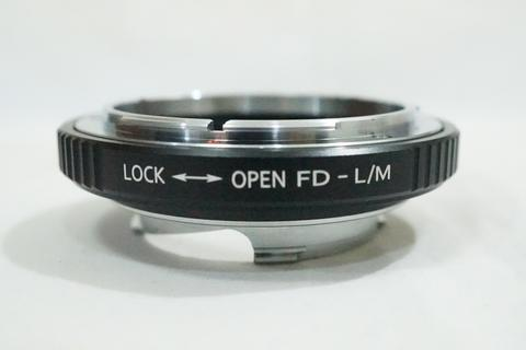 K&F Lens Adapter - Lensa Canon FD to Leica M LM L M Mount M8 M9 / FD - LM