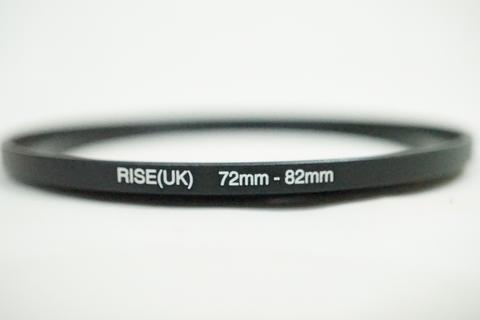 Rise Step Up Ring Filter Adapter - Step Up 72 - 82 mm 72mm - 82mm