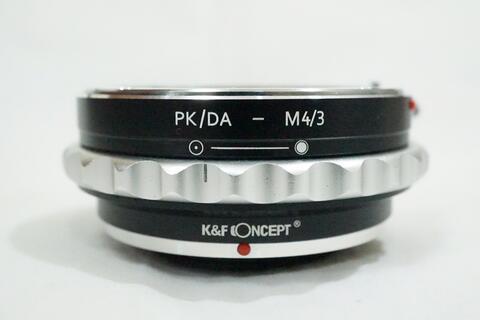 K&F Aperture Lens Adapter - Pentax K PK-A PKA to M4/3 Micro 4/3 Olympus / PK - M4/3