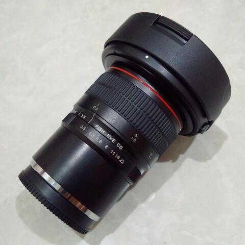 [CAKIM] WTS lensa Meike 8mm F3.5 Fisheye for Fuji Fuji x mount garansi maret 2019