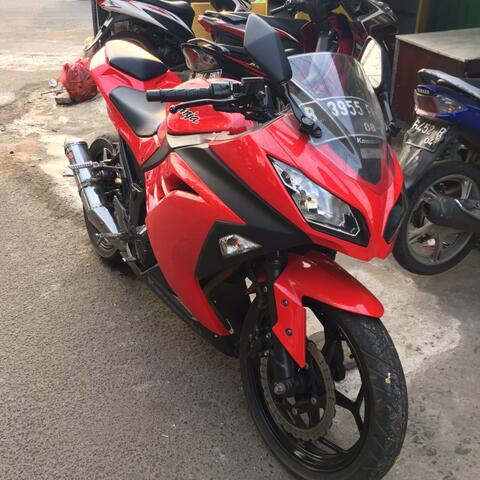 kawasaki ninja 250 fi 2013 red