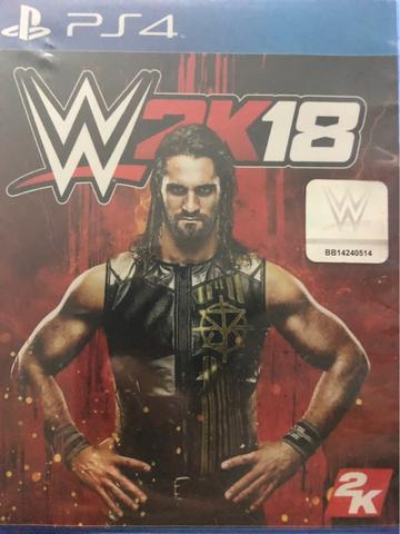 Game Ps4 Smackdown WWE 2K18