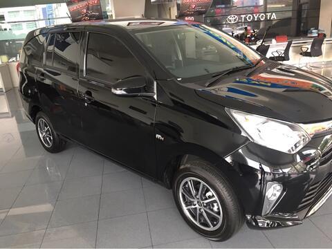 Toyota Calya G M/T siap Lebaran