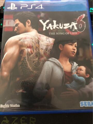 PS4 Game - Yakuza 6