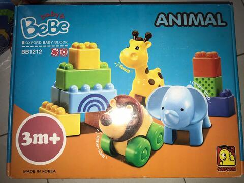 oxford high quality korean lego-bebe baby safe edition-animal BB1212