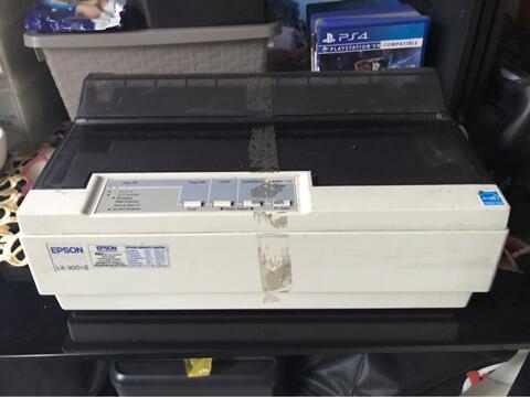 Epson LX 300 + II Nego Sampe ajadi