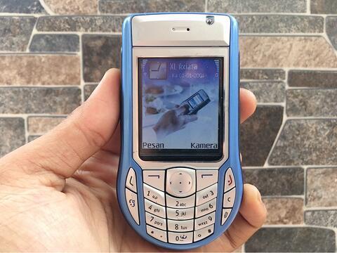 Nokia 6630 Biru Muda Normal Hp Jadul Doraemon Klasik Handphone Nostalgia