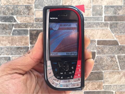 Nokia 7610 Ketupat Normal Hp Jadul Klasik Kamera Handphone Nostalgia