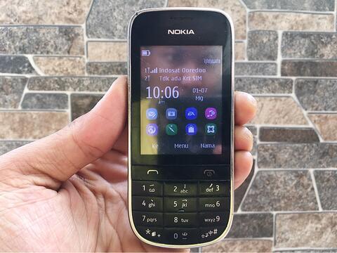 Nokia 202 Dual Sim Normal Hp Jadul Layar Sentuh Handphone Nostalgia