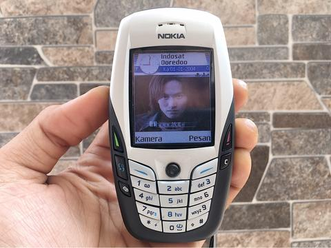 Nokia 6600 Black White Normal Hp Jadul Klasik Kamera Handphone Nostalgia