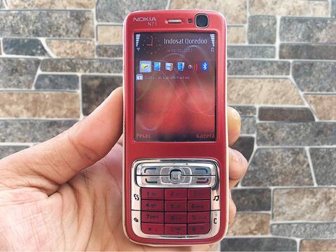 Nokia N73 Merah Normal Hp Jadul Dual Kamera Klasik Handphone Nostalgia