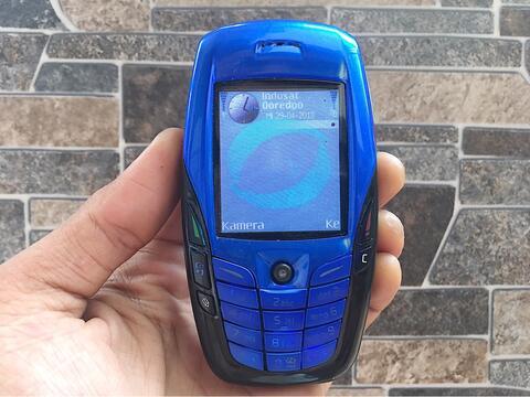 Nokia 6600 Biru Normal Hp Jadul Klasik Kamera Handphone Nostalgia