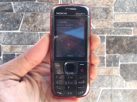 Nokia 5130 Xpress Music Merah Normal Hp Jadul Klasik Handphone Nostalgia