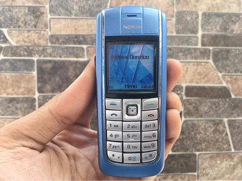 Nokia 6020 Biru Normal Hp Jadul Klasik Kamera Handphone Nostalgia