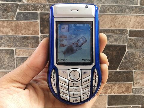 Nokia 6630 Biru Normal Hp Jadul Doraemon Klasik Kamera Handphone Nostalgia