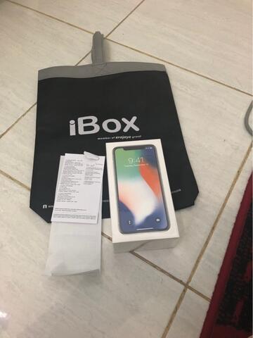 iPhone X Silver BNIB Garansi iBox
