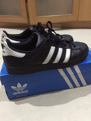 Adidas Superstar Black/White ori