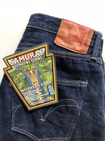 WTS Samurai Jeans S500ZX 17oz Size 31