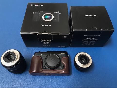 FUJIFILM XE2 Kit 18-55mm + LENSA FUJINON 35mm