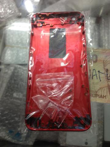 casing housing iphone 6 warna merah berikut pemasangan