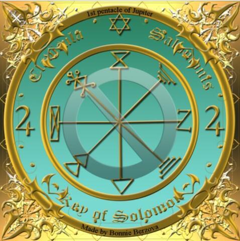 Kalung Seal.1 Sulaiman Kelimpahan Harta dan Kesuksesan