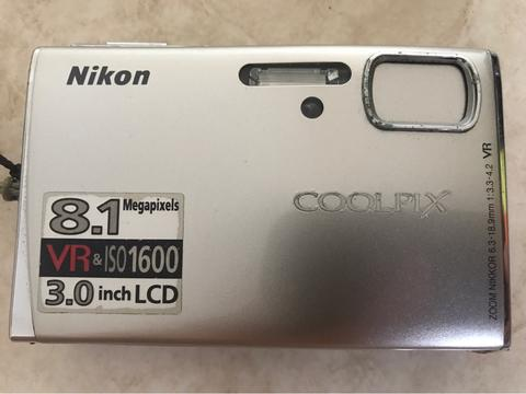 Nikon Coolpix S51 8MP ORI Camera Digital