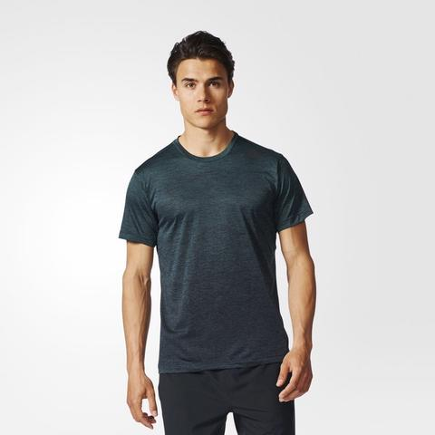 Adidas Men Freelift Gradient Tee Green Original
