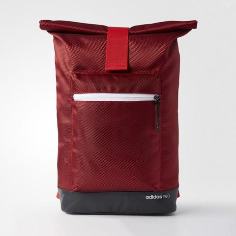 Adidas Neo City Roll Up Backpack Red Original