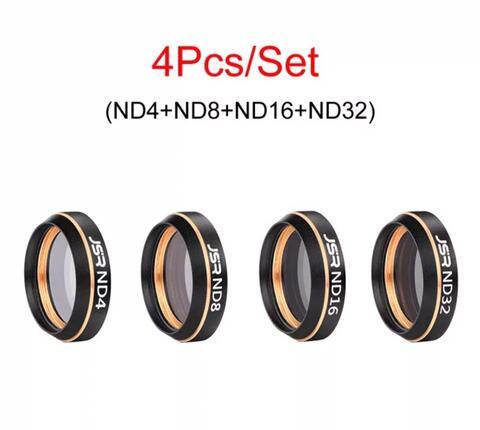 DJI MAVIC AIR - JSR - Camera Lens Filter - 4 Pcs - ND4 - ND8 - ND16 - ND32