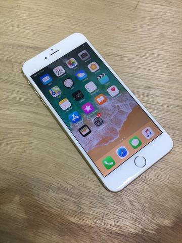 iphone 6 plus 64gb gold Fullset mulus banget silent bsa COD