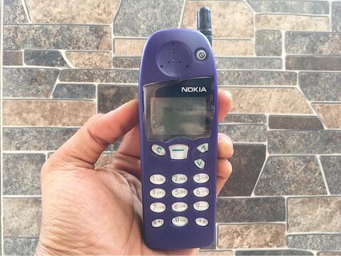 Nokia 5110 Ungu Normal Hp Jadul Klasik Antena Handphone Nostalgia